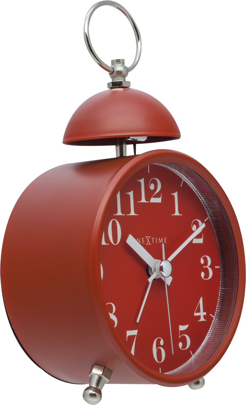 leftside 5213RO,Single Bell,NeXtime,Metal,Red,