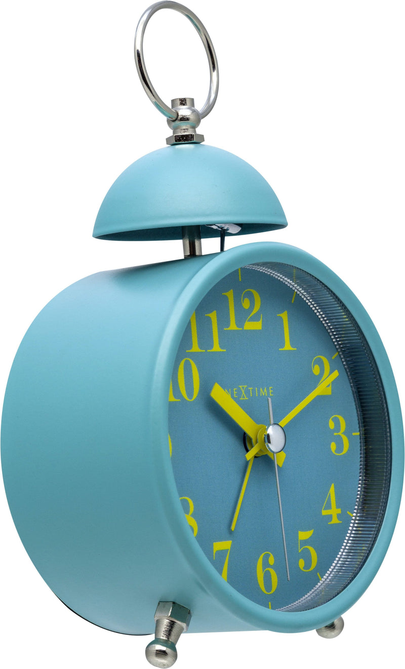 rightside 5213TQ,Single Bell,NeXtime,Metal,Turquoise,