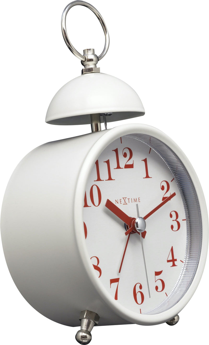 leftside 5213WI,Single Bell,NeXtime,Metal,White,
