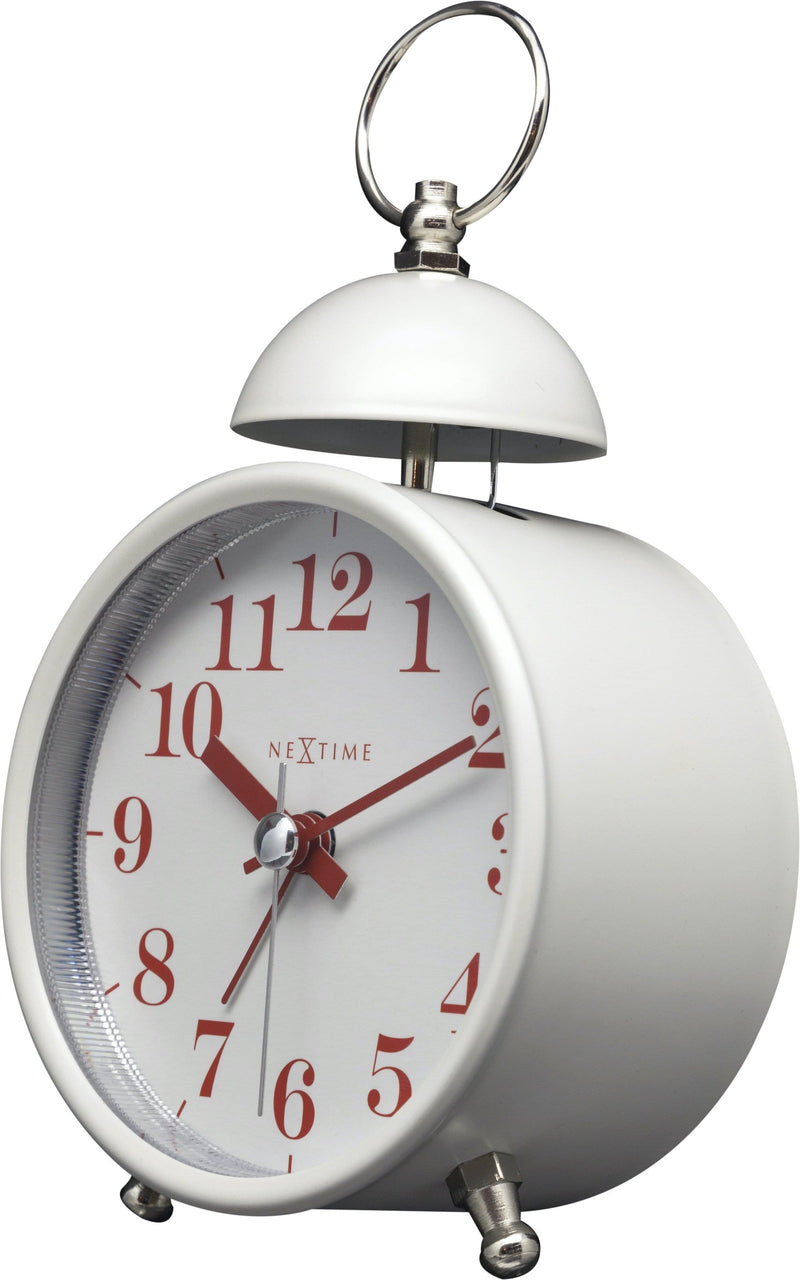 rightside 5213WI,Single Bell,NeXtime,Metal,White,
