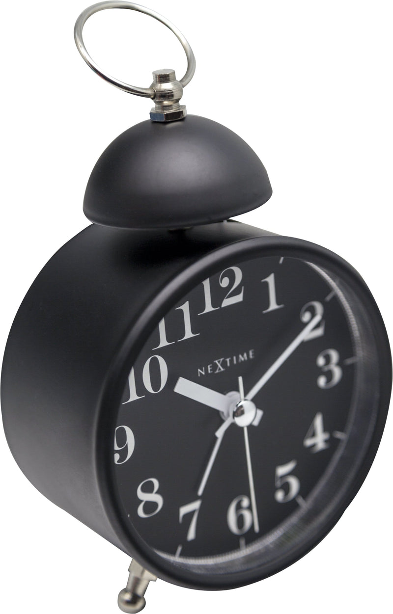 detail 5213ZW,Single Bell,NeXtime,Metal,Black,