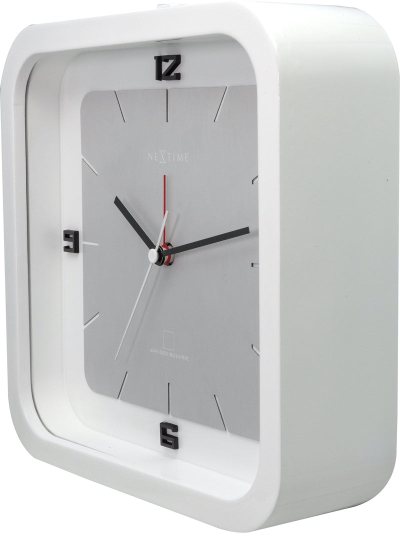 rightside 5221WI,Square Alarm,NeXtime,Wood,White