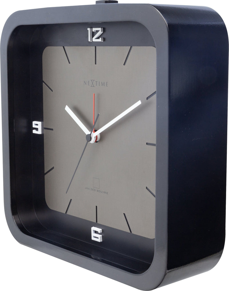 rightside 5221ZW,Square Alarm,NeXtime,Wood,Black