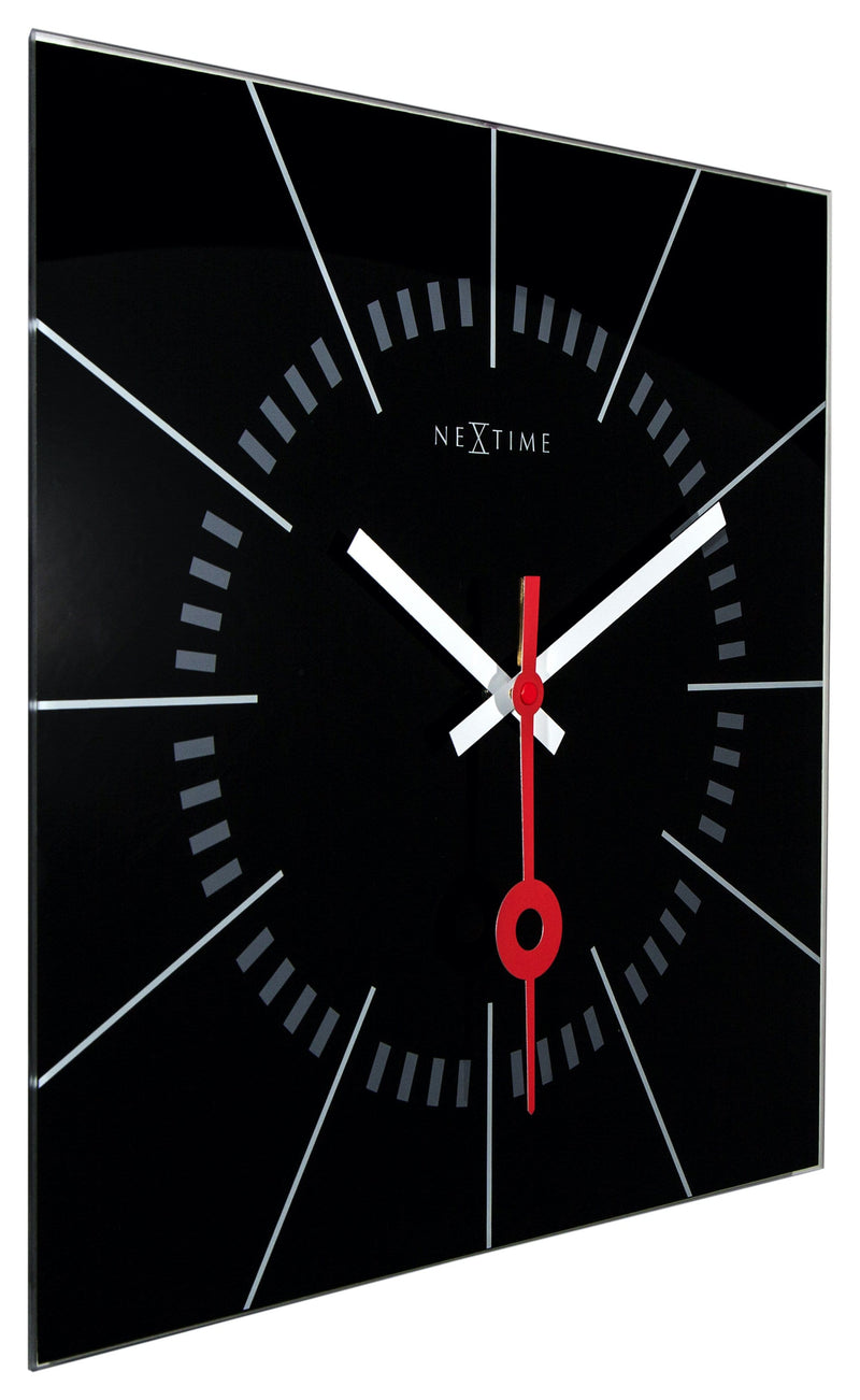 leftside 8636ZW,Stazione,NeXtime,Glass,Black,