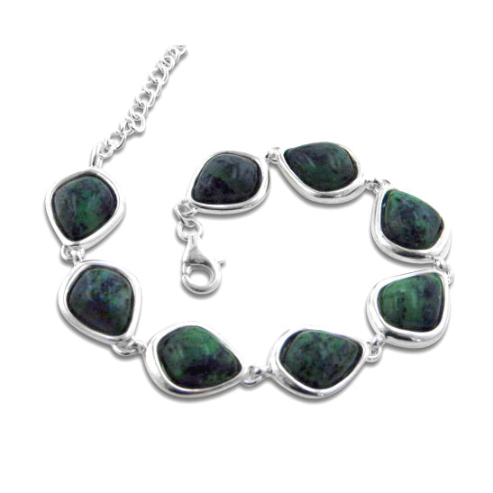 Ruby in Zoisite Sterling Silver 7