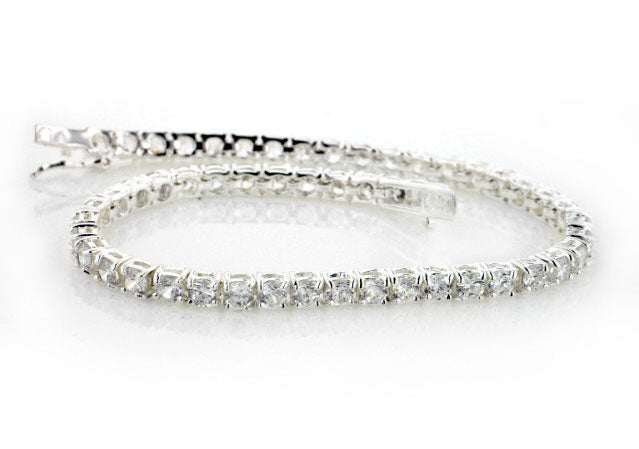 12cttw CZ Sterling Silver White Cubic Zirconia 7