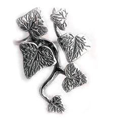 Sterling Silver Ivy Vines and Leaves Ring