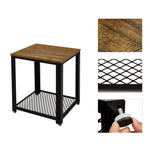 Meerveil Side Table---B07VPNCG69