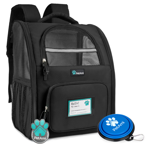 Deluxe 2-Way Entry Pet Carrier Backpack