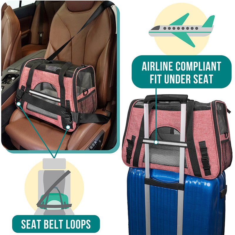 Heather Tote Bag Pet Carrier
