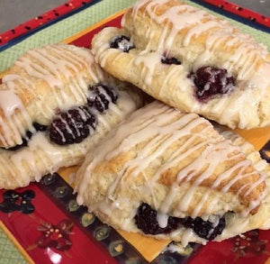 Blackberry-Stuffed Scones