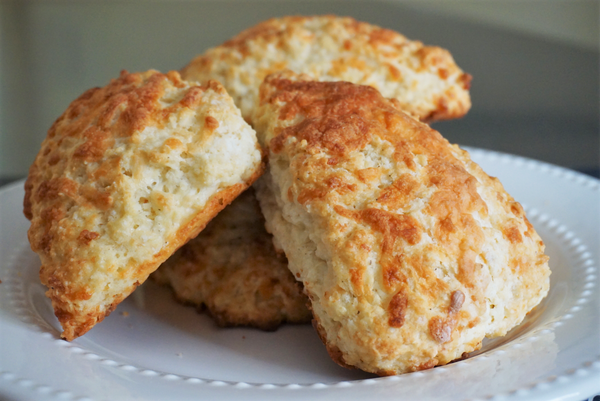 NEW!  Vermont Cheddar Scone Mix