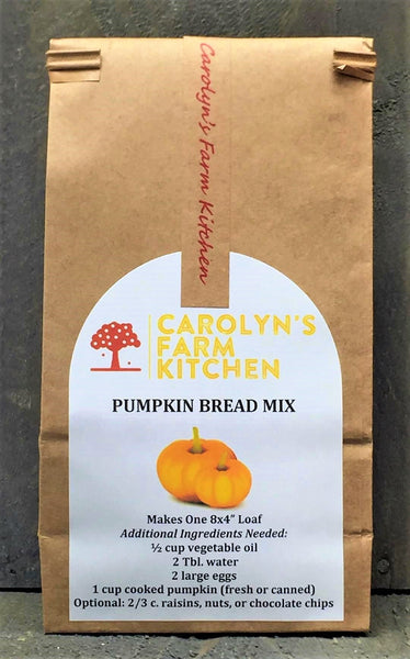 Thanksgiving Delivery 11/25 - Mini Loaf Pumpkin Bread (Plain, Raisin, or Chocolate Chip)