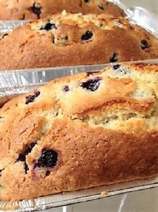 June 1st & 4th 'Red Buggy' Deliveries - Blueberry Sour Cream Pound Cake