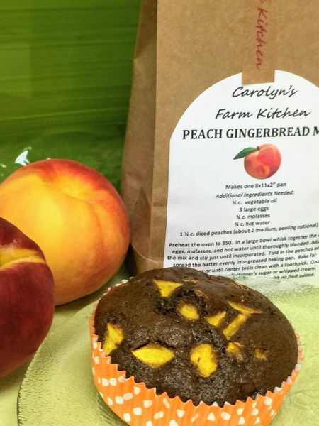 Peach Gingerbread Mix