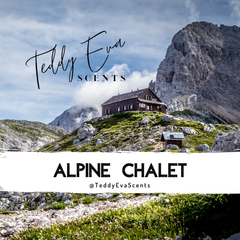 Alpine Chalet Teddy Pot
