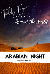 Arabian Night Teddy Clamshell