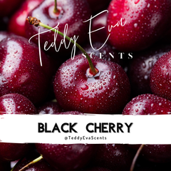 Black Cherry wax melt with Teddy Eva Scents