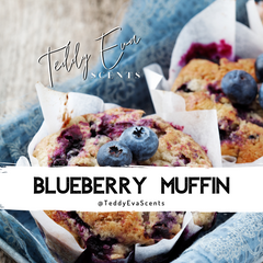 Blueberry Muffin Teddy Pot