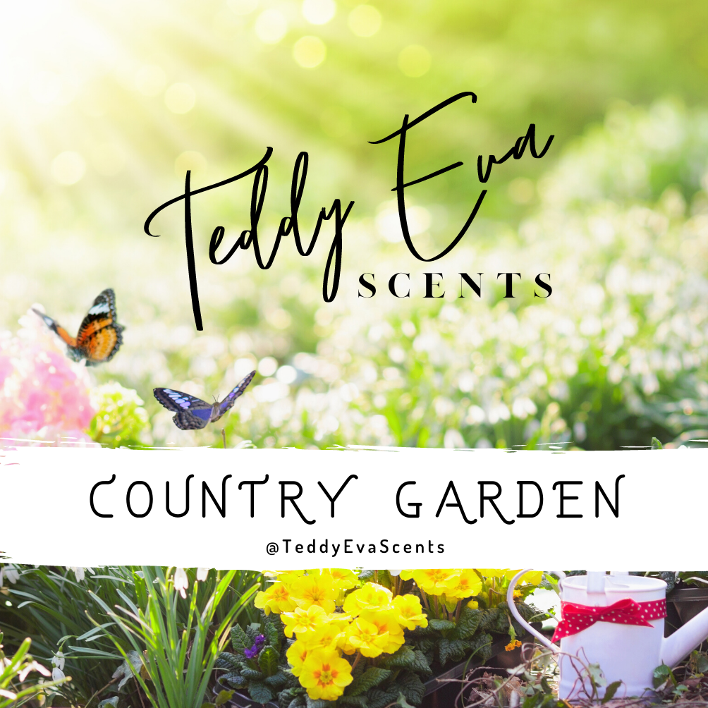 Country Garden Teddy Pot