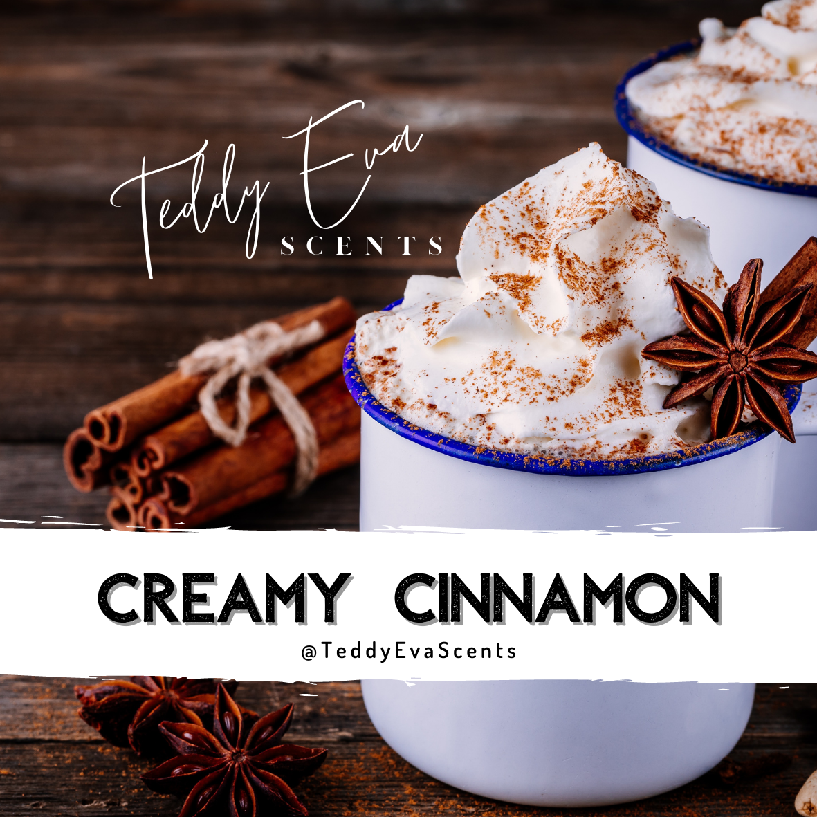 Creamy Cinnamon Teddy Pot