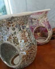Crackle Style Wax Melt Burners