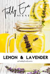 Lemon and Lavender Teddy Clamshell