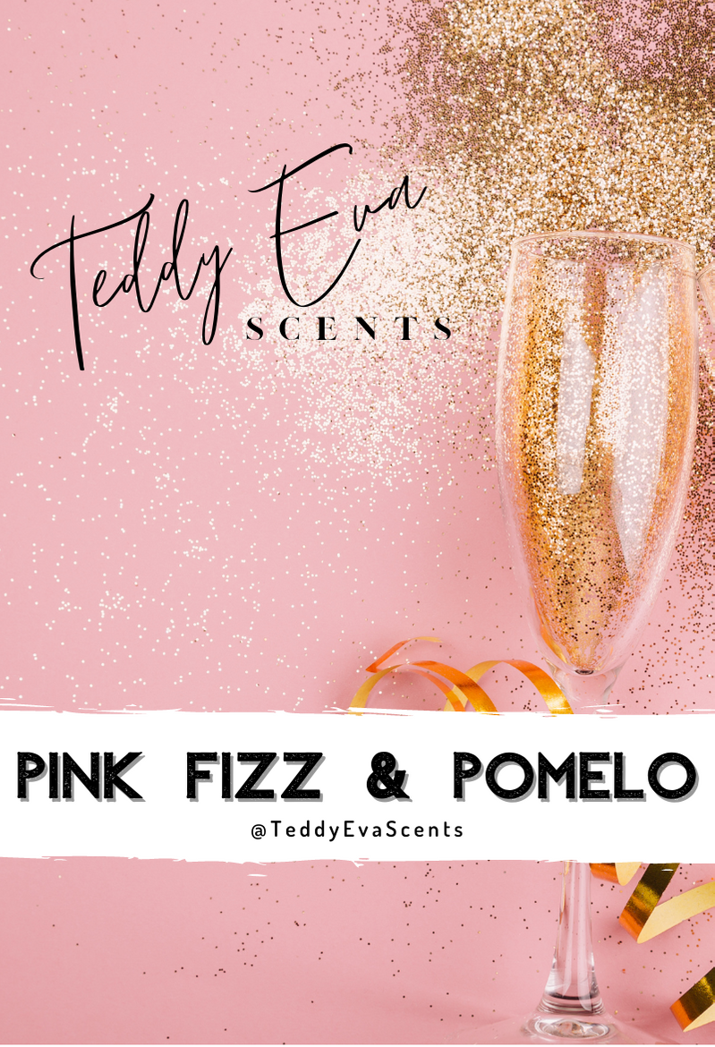 Pink Fizz & Pomelo Teddy Clamshell