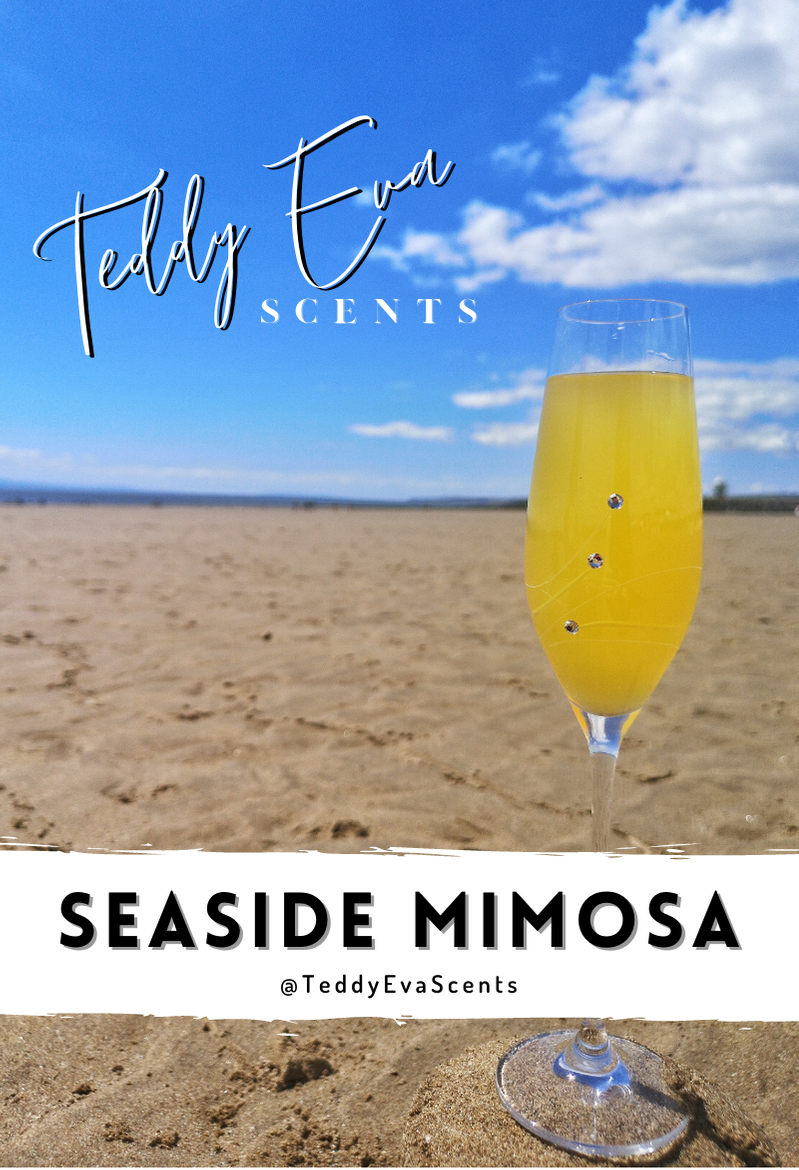 Seaside Mimosa Teddy Clamshell