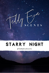 Starry Night Teddy Clamshell