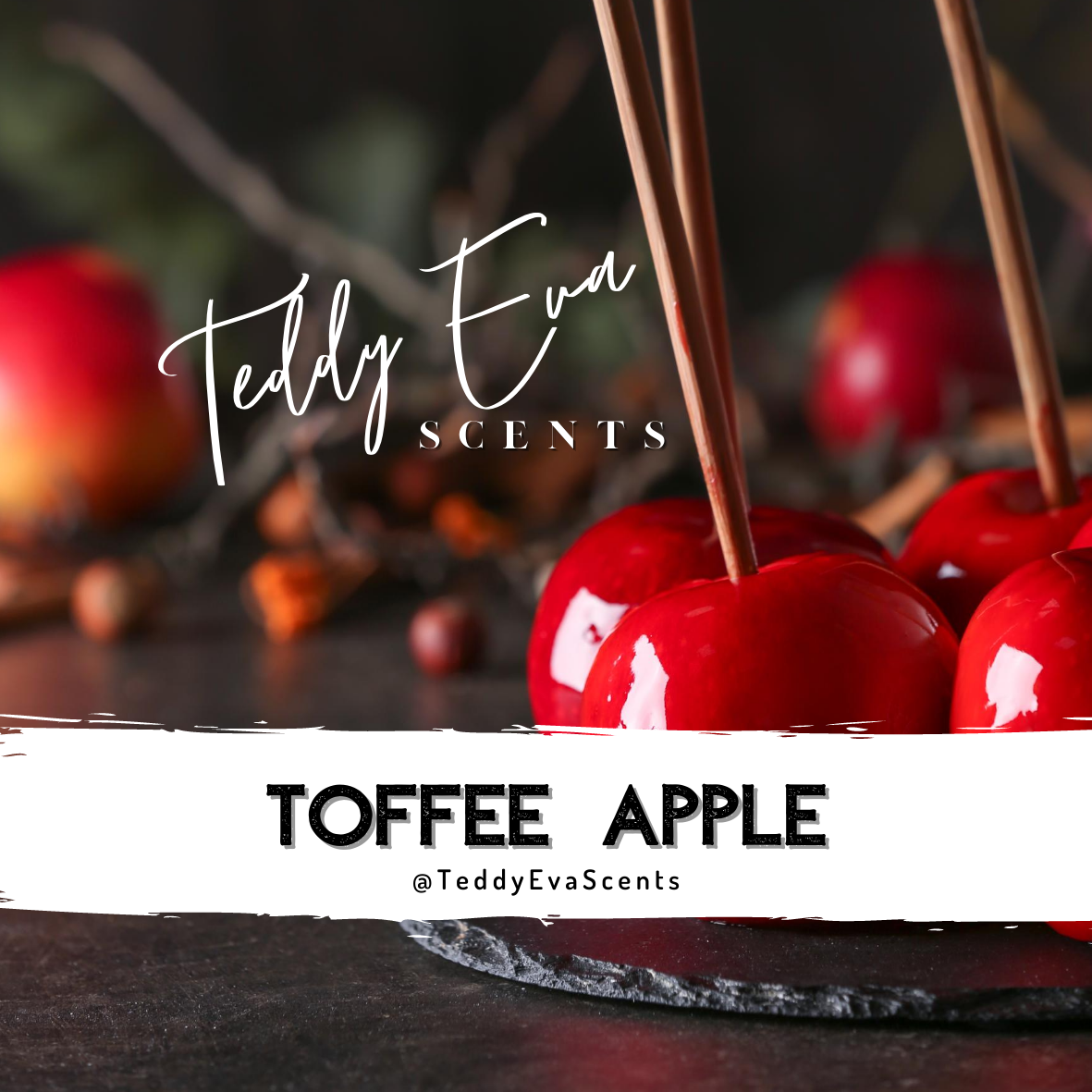 Toffee Apple - Halloween themed wax melt