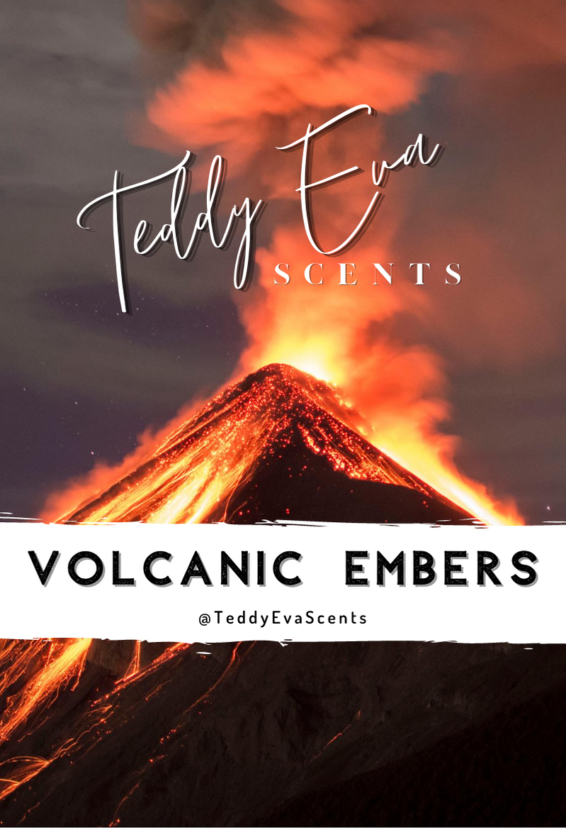 Volcanic Embers Teddy Clamshell