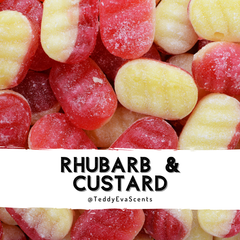 Rhubarb & Custard Teddy Pot