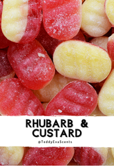 Rhubarb & Custard Teddy Clamshell