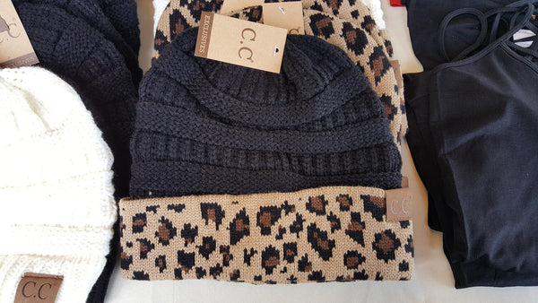 710419016e1 CC Beanie - Leopard – Urban Dollhouse Boutique