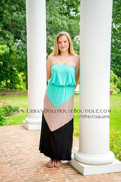 Plus Size Mint To Be Dress – Urban Dollhouse Boutique