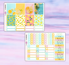 Load image into Gallery viewer, Lemonade Planner Stickers | Erin Condren | Weekly Kit