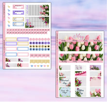 Load image into Gallery viewer, May Planner Stickers | Erin Condren | Monthly Kit | Printable