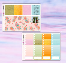 Load image into Gallery viewer, Pineapple Planner Stickers | Erin Condren | Weekly Kit