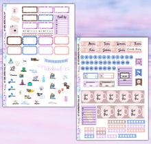 Load image into Gallery viewer, Girl Boss Planner Stickers | Erin Condren | Weekly Kit | Printable