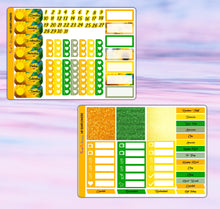 Load image into Gallery viewer, Sunflowers Planner Stickers | Happy Planner | Weekly Kit