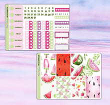 Load image into Gallery viewer, Watermelon Planner Stickers | Happy Planner | Weekly Kit