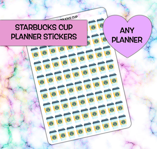 Starbucks Coffee Planner Stickers | any planner