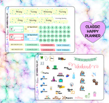 Load image into Gallery viewer, Panda Unicorn Planner Stickers | Happy Planner | Weekly Kit