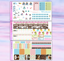 Load image into Gallery viewer, Starbucks Coffee Planner Stickers | Hobonichi Weeks | Weekly Kit