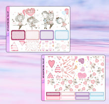 Load image into Gallery viewer, Valentine Girl Planner Stickers | Happy Planner | Weekly Kit