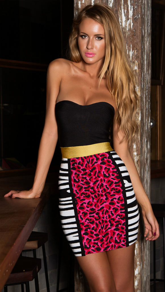 Tigress Bandage Dress