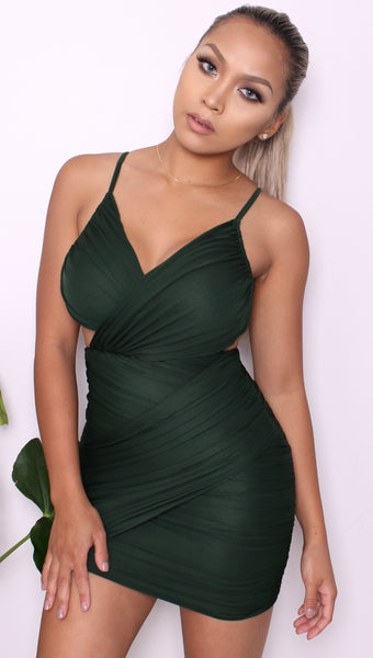 """Emerald"" Mini Dress"