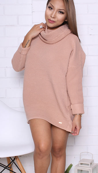"""Dane"" Pink Blush Knit"