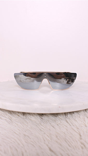 Rihanna Charcoal Sunglasses